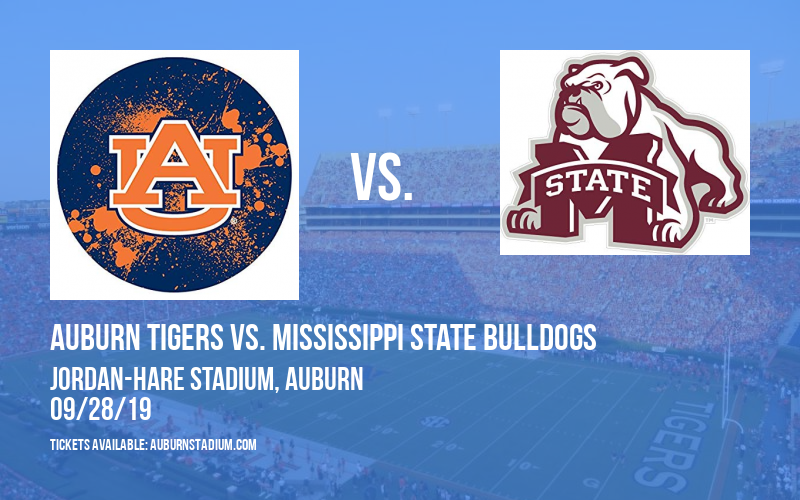 PARKING: Auburn Tigers vs. Mississippi State Bulldogs at Jordan-Hare Stadium