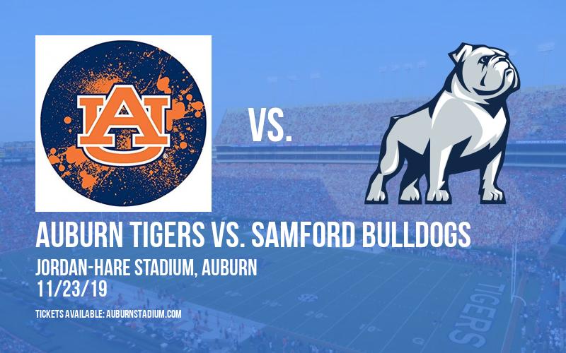 Auburn Tigers vs. Samford Bulldogs at Jordan-Hare Stadium