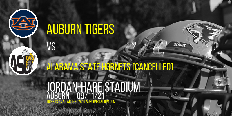 Auburn Tigers vs. Alabama State Hornets [CANCELLED] at Jordan-Hare Stadium