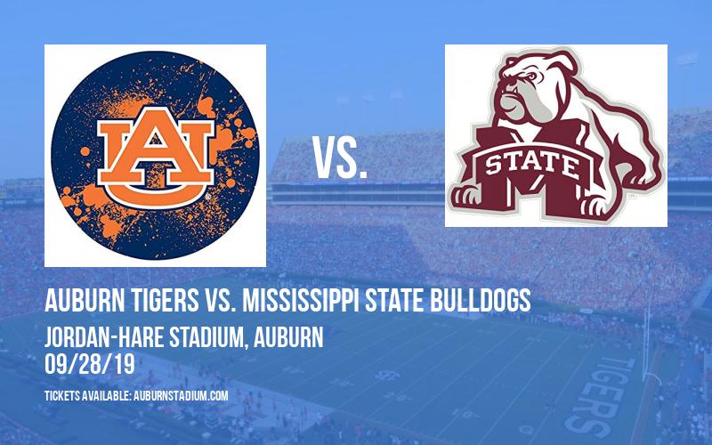 PARKING: Auburn Tigers vs. Mississippi State Bulldogs at Jordan-Hare Stadium