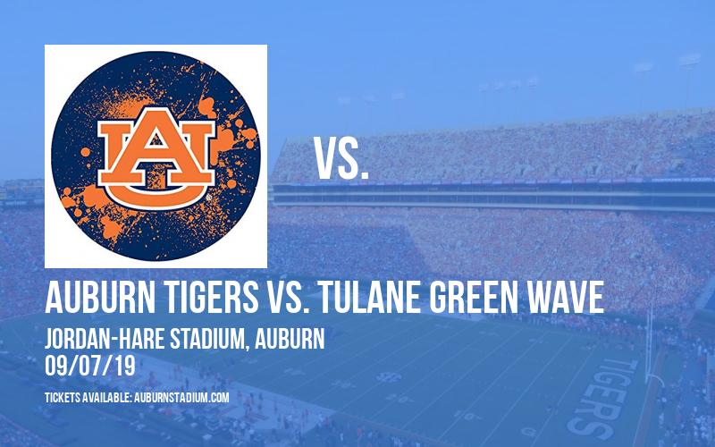 PARKING: Auburn Tigers vs. Tulane Green Wave at Jordan-Hare Stadium