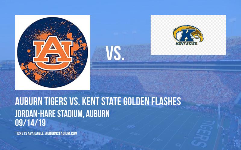 Auburn Tigers vs. Kent State Golden Flashes at Jordan-Hare Stadium