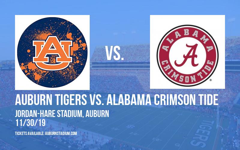 PARKING: Auburn Tigers vs. Alabama Crimson Tide at Jordan-Hare Stadium