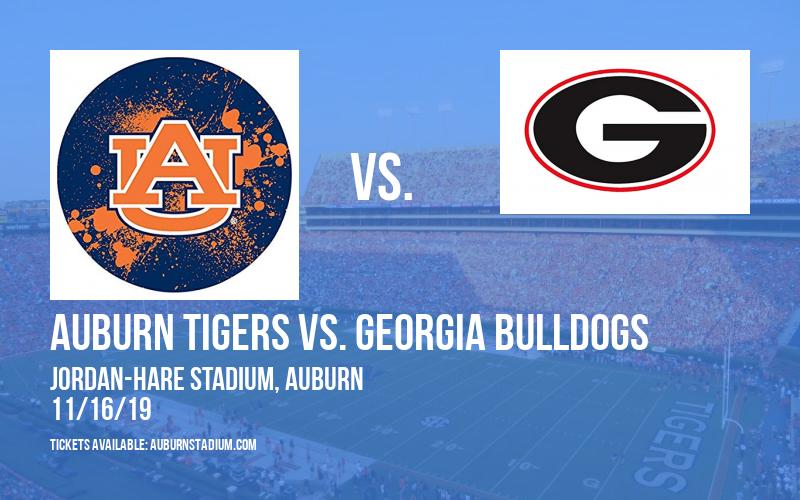 Auburn Tigers vs. Georgia Bulldogs at Jordan-Hare Stadium