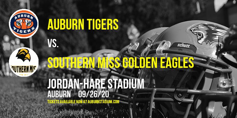 Auburn Tigers vs. Southern Miss Golden Eagles at Jordan-Hare Stadium