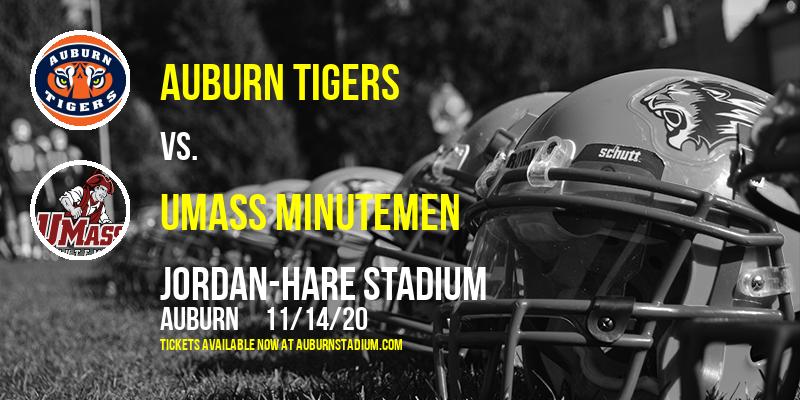 Auburn Tigers vs. UMass Minutemen at Jordan-Hare Stadium