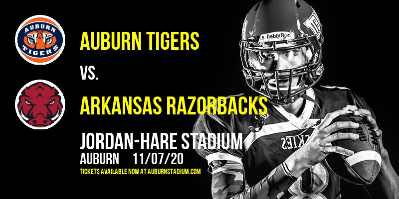 Auburn Tigers vs. Arkansas Razorbacks at Jordan-Hare Stadium
