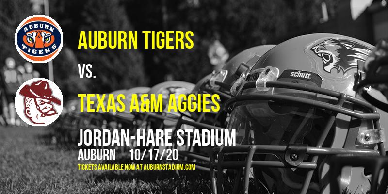Auburn Tigers vs. Texas A&M Aggies at Jordan-Hare Stadium