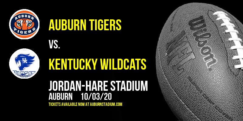 Auburn Tigers vs. Kentucky Wildcats at Jordan-Hare Stadium