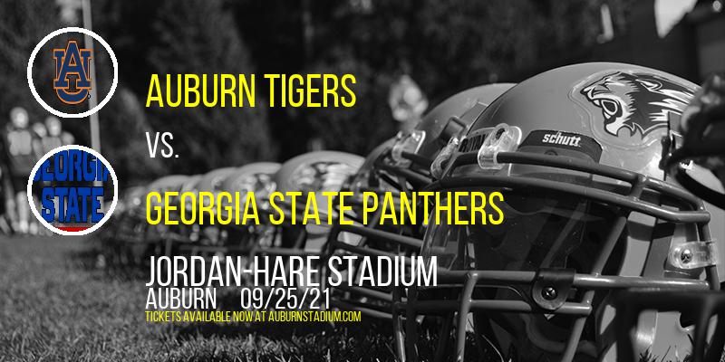 Auburn Tigers vs. Georgia State Panthers at Jordan-Hare Stadium