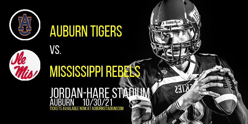 Auburn Tigers vs. Mississippi Rebels at Jordan-Hare Stadium