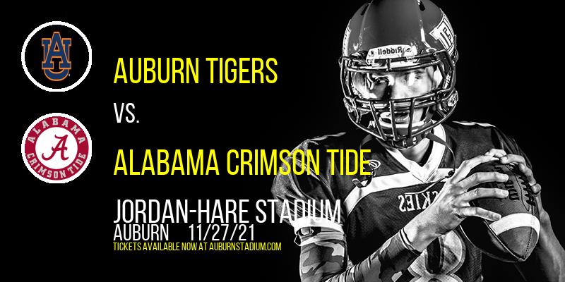 Auburn Tigers vs. Alabama Crimson Tide at Jordan-Hare Stadium