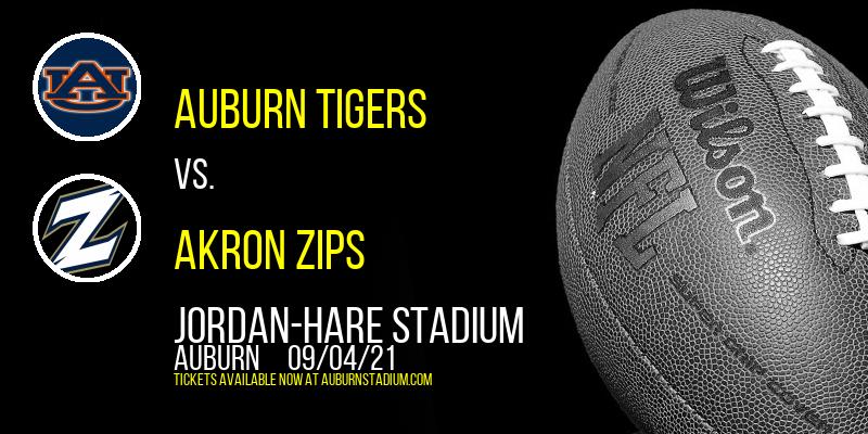 Auburn Tigers vs. Akron Zips at Jordan-Hare Stadium